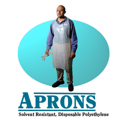 Dispoable Aprons - Overstock