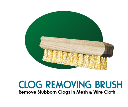 Clog Removing Brushes