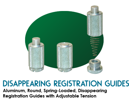 Disappearing Registration Guides