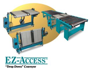 EZ Access Drop Down Conveyors
