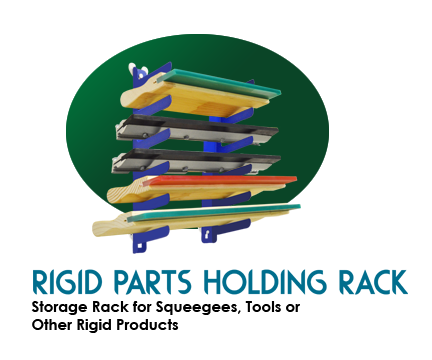 Rigid Parts Wall Mount Holding Rack