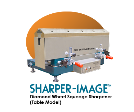 Sharper Image Table Top Model - Squeegee Sharpening