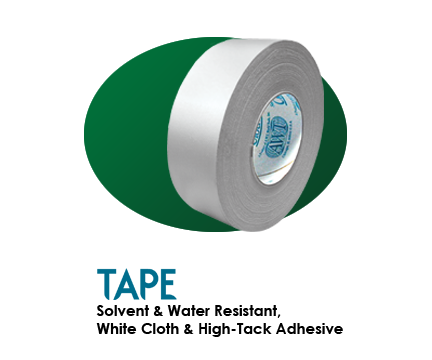 Solvent & Water Resistant Tape