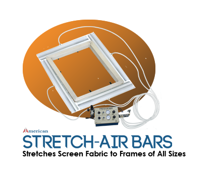 Stretch-Air Bars Screen Stretching System